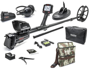 Nokta Makro Impact Pro Metal Detector Package with Nokta Finds Pouch
