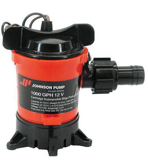 Johnson 1000 GPH 12 Volt PUMP Gold Prospecting Jobe