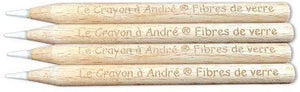 Le Crayon - Andre's Fiberglass Restoration and Coin Cleaning Pencils (set of 1 or 4) Accessories Le Crayon Set of 4