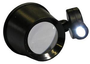 Led Jewelers Eye Loupe Gem & Mineral Hunting Supplies Jobe