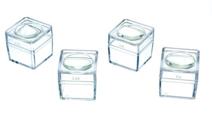 1 Inch Square Magnifying Display Boxes