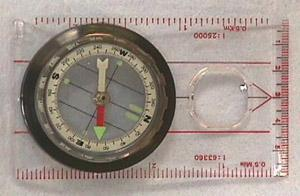 Map Compass Outdoor & Camping Gear Jobe