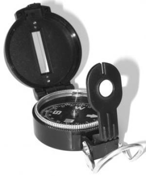 Military Style Compass Outdoor & Camping Gear Jobe