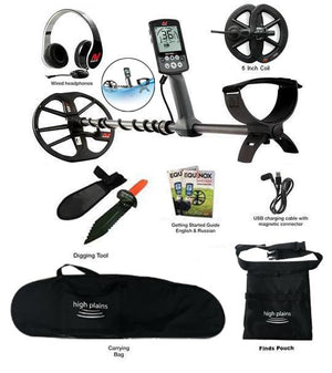 Minelab EQUINOX 600 Metal Detector with 6 inch Smart Coil