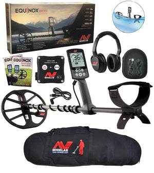 Equinox 800 Metal Detector Bundle with Minelab Carry Bag