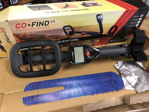 Minelab Go Find 22 Metal Detector - New Returned Damaged Box Minelab Metal Detectors Minelab