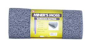 "Miner's Moss Sluice Box Matting, 12""x36"" 10mm Thick Choice of Color Gold Prospecting,Accessories Jobe Grey"