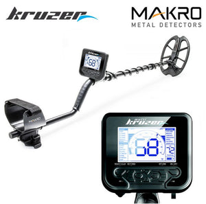 Multi Kruzer Waterproof Metal Detector + Wireless Headphones and FREE Gear Nokta Makro
