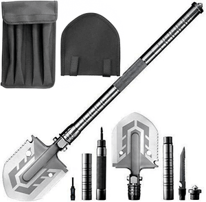 MULTIFUNCTIONAL SURVIVAL AND CAMPING SHOVEL