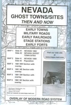 Nevada Ghost Town Sites Then and Now Accessories Jobe