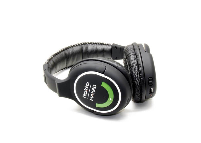 Nokta Makro - 2.4GHz Wireless Headphones (Green Edition)
