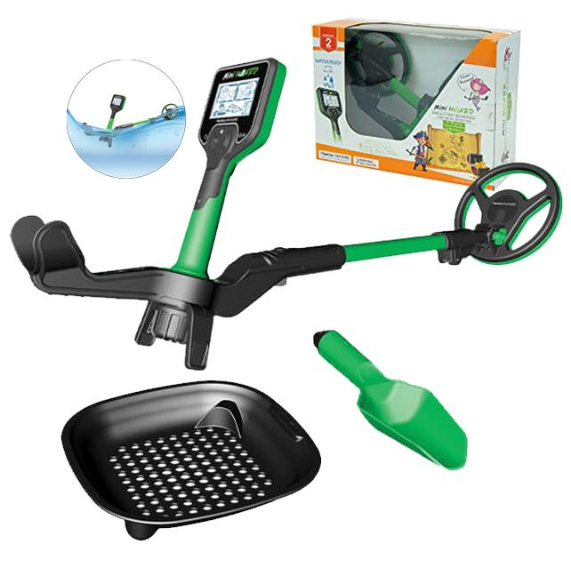 Mini Hoard Waterproof Metal Detector for Kids - Cool Kid Kit