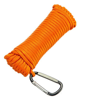 450 LB Pull Fishing Magnet with 50ft 1100 LB Paracord With Carabiner
