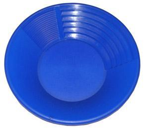 Pioneer 10 Inch Blue Gold Pan Gold Prospecting Jobe