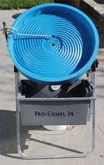 "Pro Camel 24"" Automatic Spiral Wheel Gold Panning Machine"