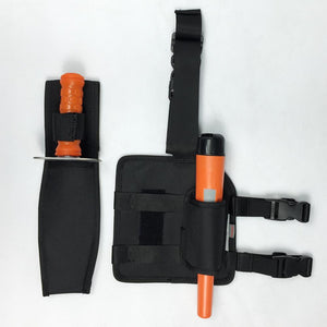 Quest Drop Leg Pouch and Holster for Pinpointer Detector ProPointer ProFind High Plains Prospectors