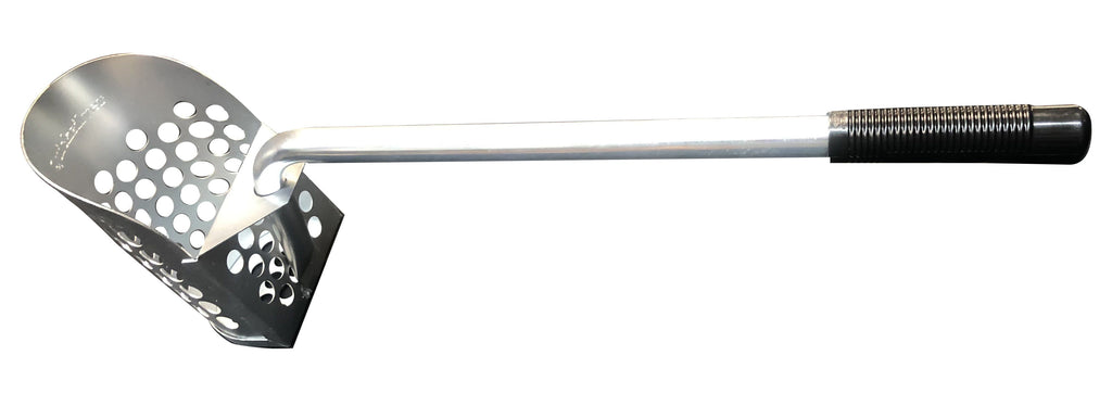 "24"" Quicksilver Sand Scoop Galvanized Long Handle for Beach or Water"