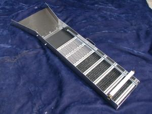 "48"" Gold Prospecting Sluice Box with Flare"
