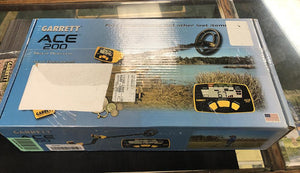 Returned - Brand New except Box Garrett ACE 200 Metal Detector Garrett Metal Detectors Garrett