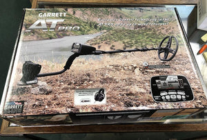 Returned Slightly Used Garrett AT Pro w/ Scratched coil Garrett Metal Detectors,Package Deals Garrett