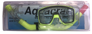 Snorkel and Dive Mask For Underwater Treasure Hunting - Yellow