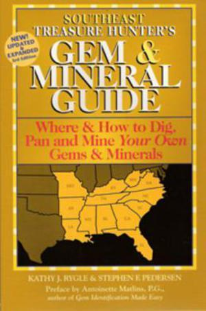 Southeast Treasure Hunter's Gem & Mineral Guide Accessories Jobe