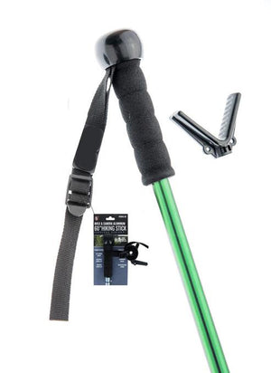 Telescopic Aluminum Hiking Stick, Rifle Monopod Shooting Rest Stick