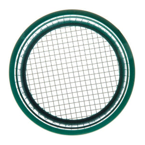 6-Inch Green Mini Stackable Sifting Pan - 7 Mesh Size Options