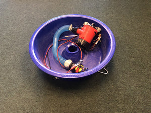 Used Blue Bowl Plumbed with Pump High Plains Prospectors