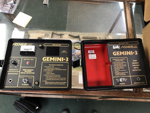 Used in Good Condition - Fisher Gemini 3 Cache Finder Metal Detector Fisher Metal Detectors High Plains Prospectors