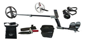 "XP DEUS Detector, 11"" X35 Coil, LCD Remote, and WS4 Backphones and 9"" Coil XP Metal Detectors XP Detectors"