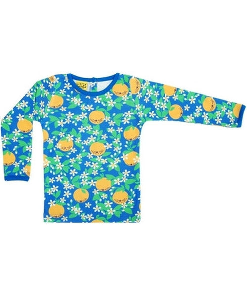 DUNS Blue Oranges Long Sleeved Top