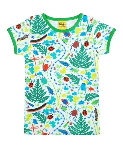 DUNS Bugs Short Sleeved Top