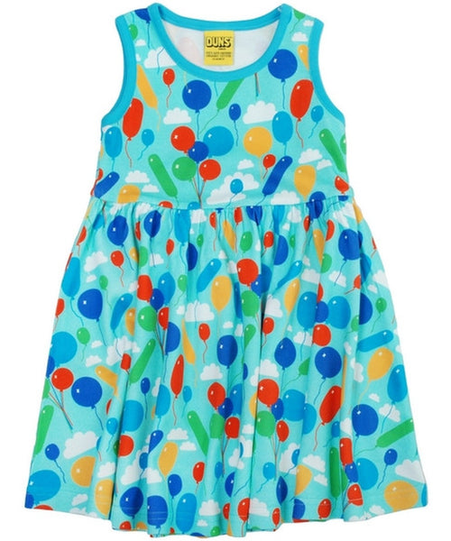 DUNS Turquoise Balloons Sleeveless Dress