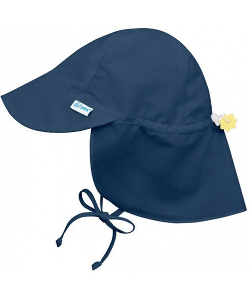 iPlay Wide Sun Protection Hat with flap - Navy
