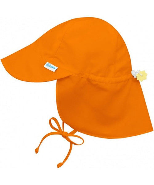 iPlay Wide Sun Protection Hat with flap - Orange