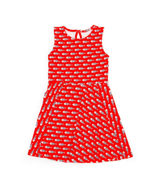 Lily-Balou 'Trixy' dress - Fish print