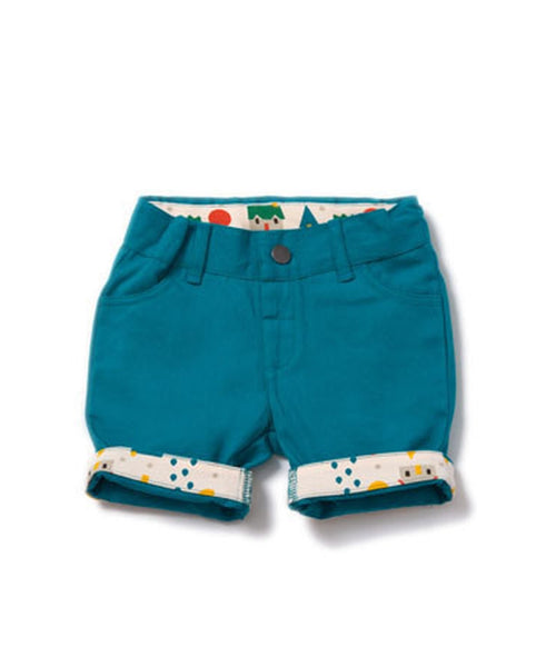 Little Green Radicals Beach Ball Blue Shorts