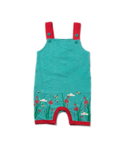Little Green Radicals Cornish Copper Storytime Dungarees