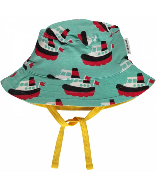 Maxomorra Boat Sun Hat with Cord