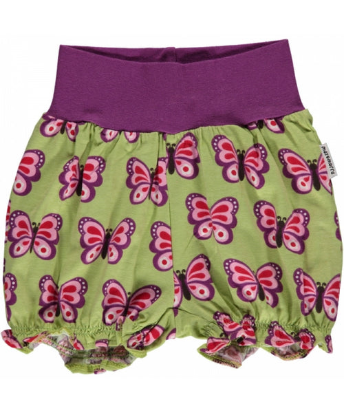 Maxomorra Butterfly Rib Shorts
