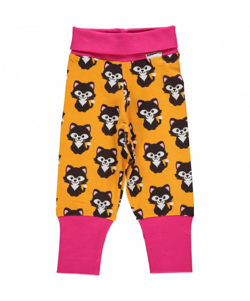 Maxomorra Cat rib pants