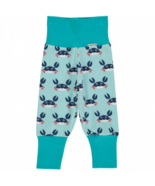 Maxomorra Crab rib pants