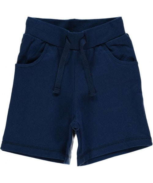 Maxomorra dark blue shorts - regular length