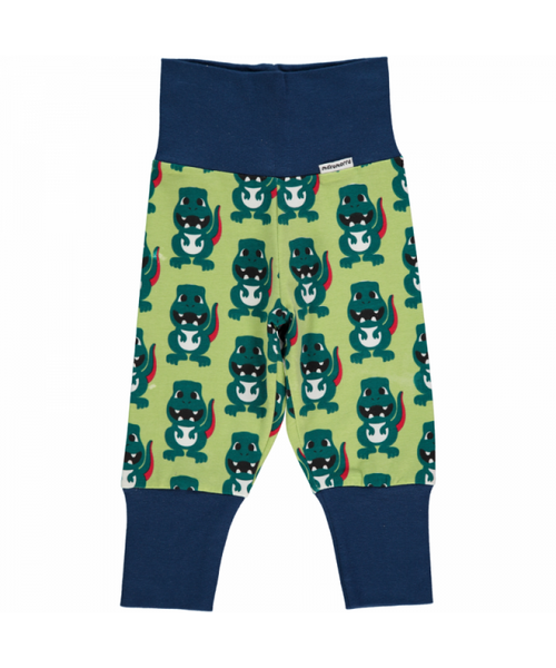 Maxomorra Dino rib pants