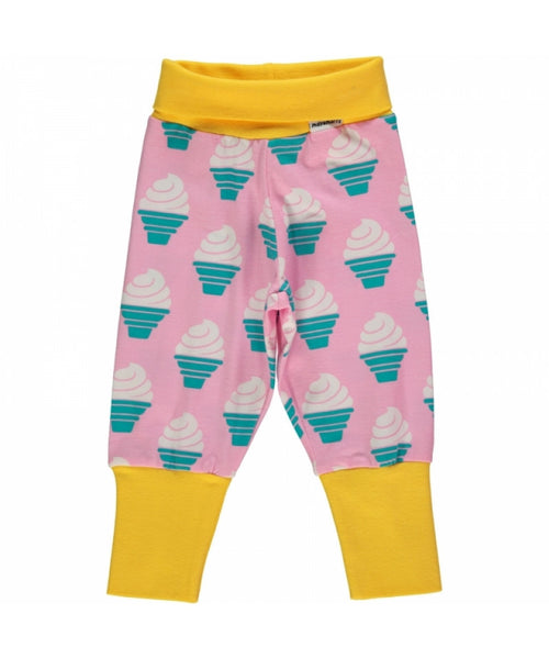 Maxomorra Ice Cream rib pants
