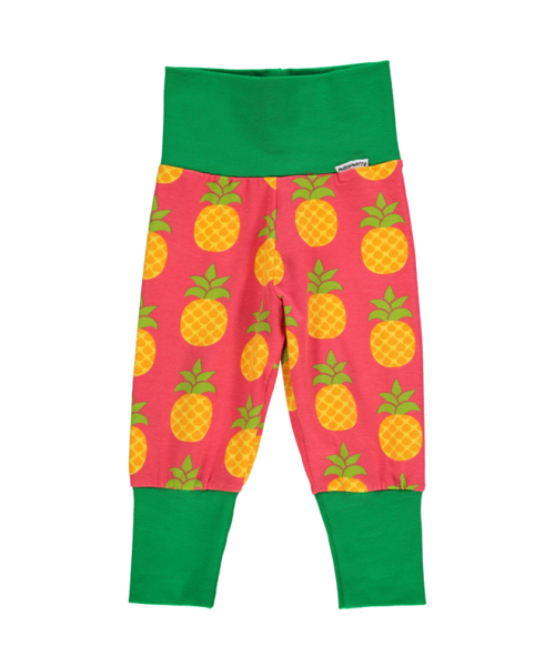 Maxomorra Pineapple rib pants