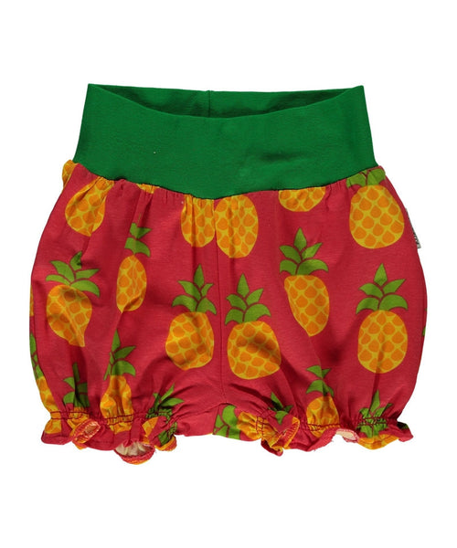Maxomorra Pineapple rib shorts
