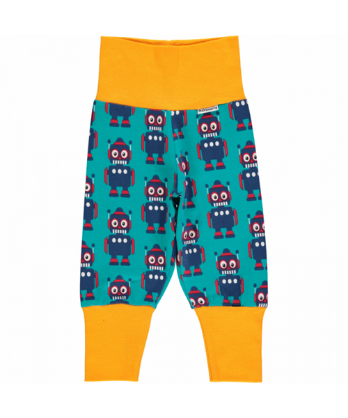 Maxomorra Robot rib pants