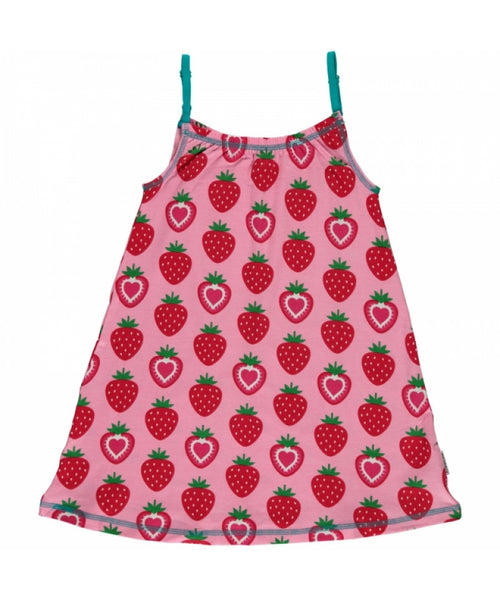 Maxomorra Strawberry Spaghetti Dress